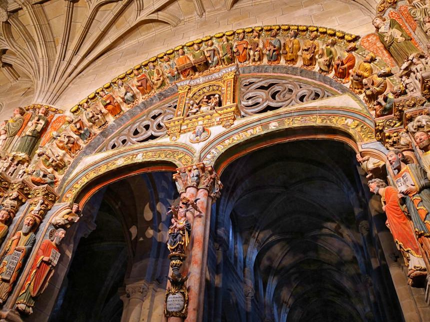 Pórtico del Paraíso de la Catedral de Ourense