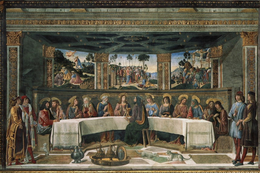 Santa Cena de Cosimo Rosselli