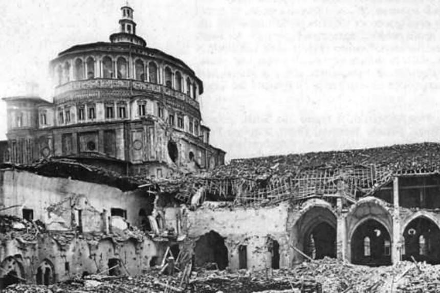 bombardeo de Santa Maria delle Grazie