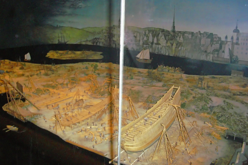 diorama del Vasamuseet