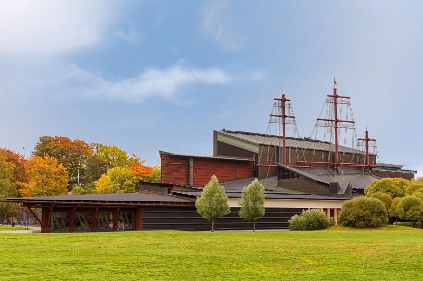 exterior del Museo Vasa