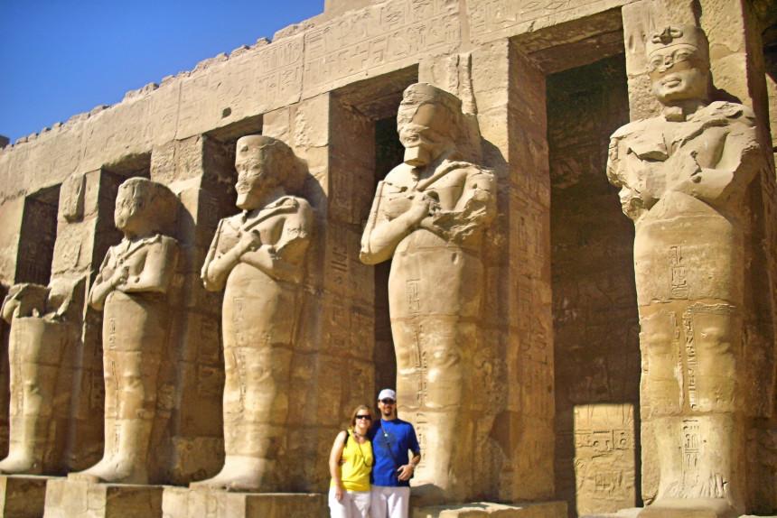 mapaymochila en Egipto