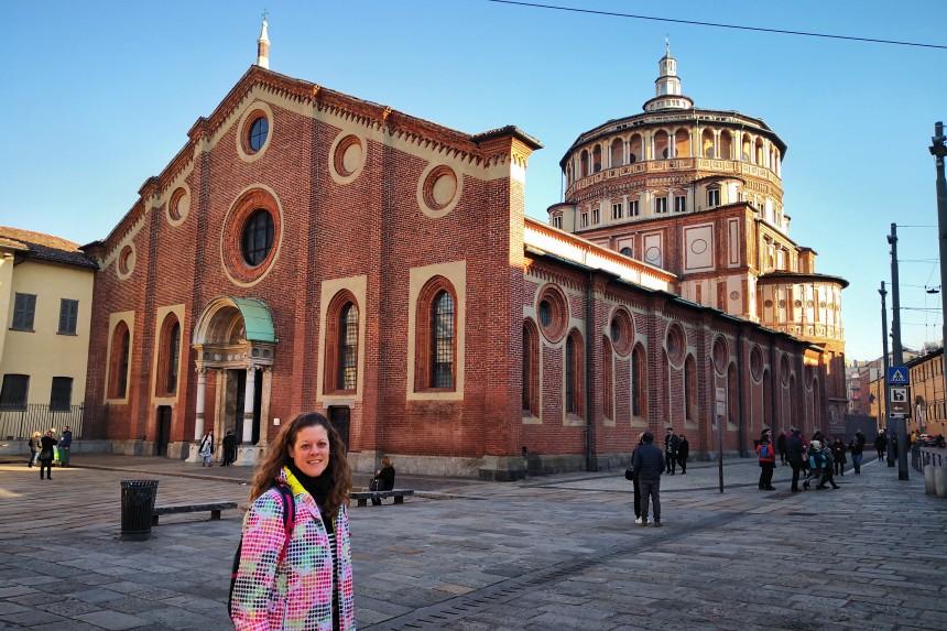 mapaymochila en Santa Maria delle Grazie