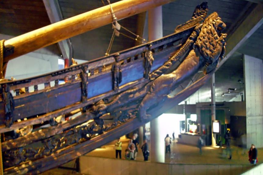Mascarón de proa Vasamuseet