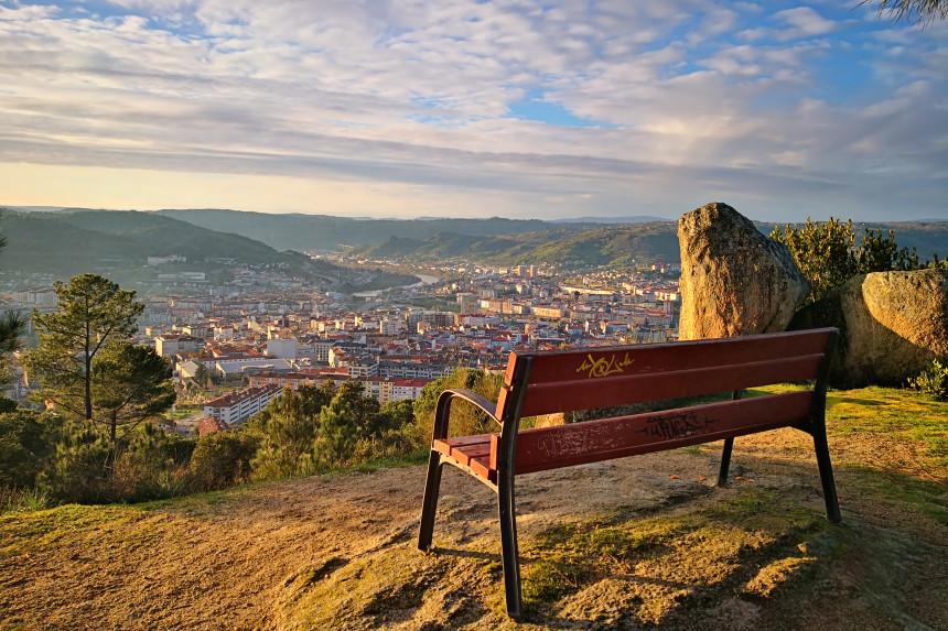 Que ver en Ourense, Miradoiro de Montealegre