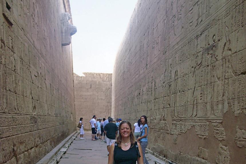 templo de Horus en Edfu