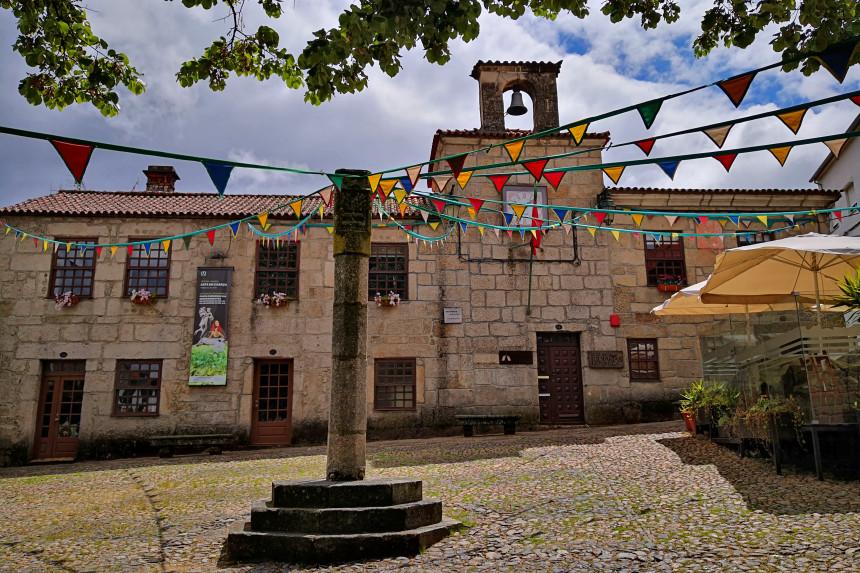 Antiguo Ayuntamiento de Belmonte en Portugal