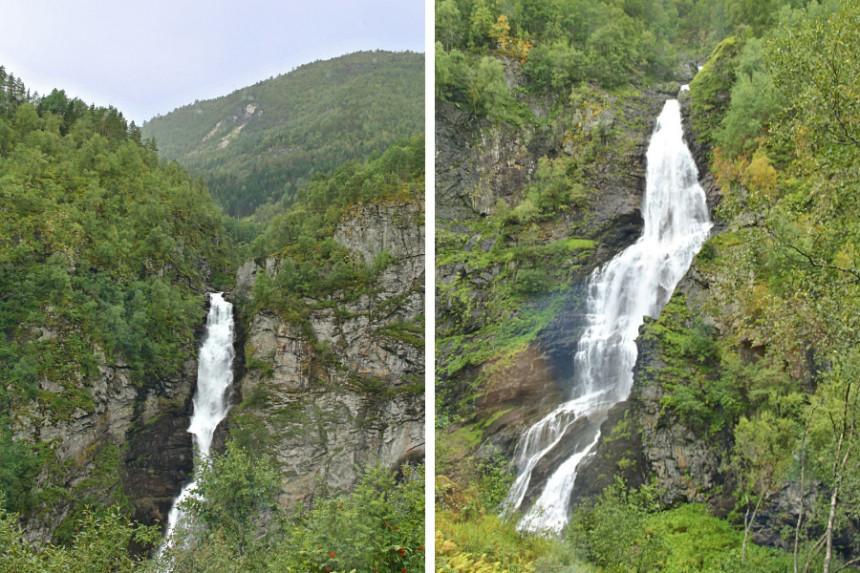 Sivlefossen y Stalheimsfossen
