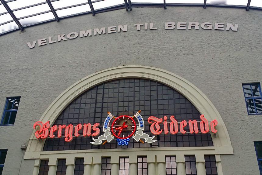 estación de tren de Bergen