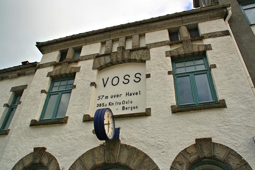 estación de tren de Voss