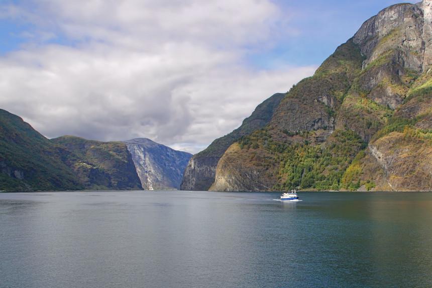 fiordo Nærøyfjord