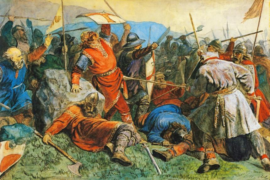 La caída de Olav el Santo