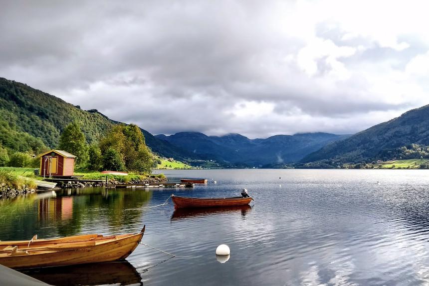 Oppheimsvatnet en Voss