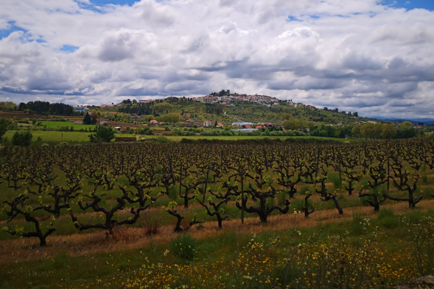 panorámica de belmonte en Portugal