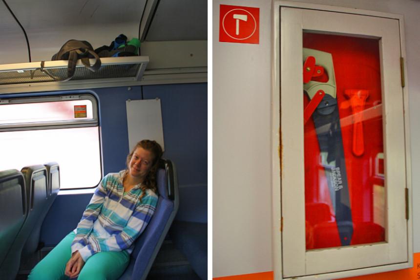 tren en Noruega