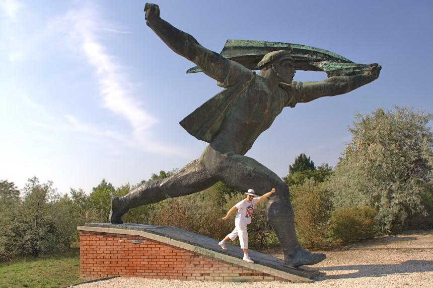 viaje a Budapest - Memento Park