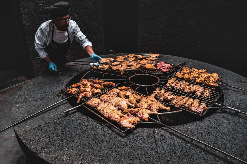 Restaurante el Diablo en Timanfaya