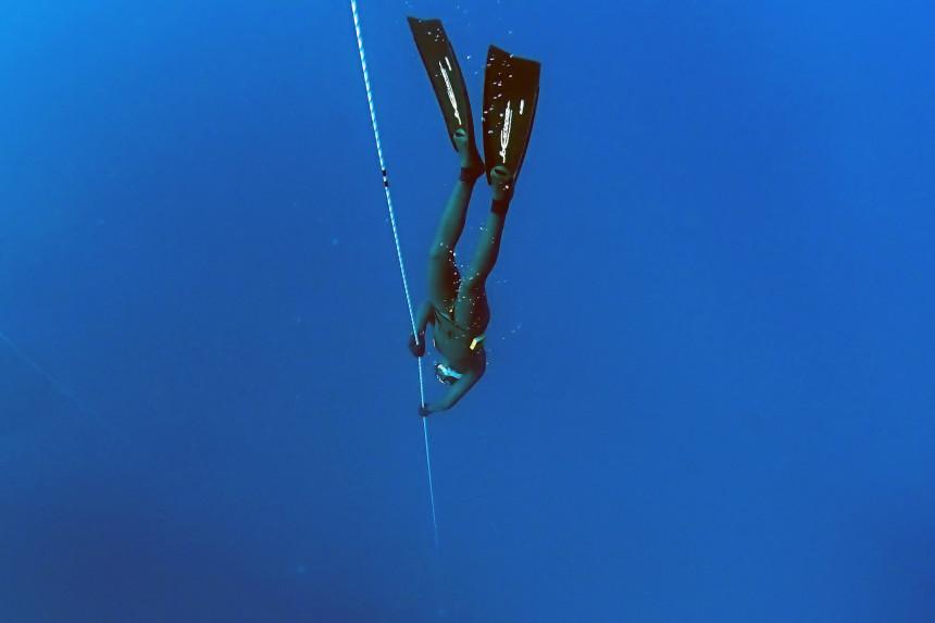 buceo en Tenerife - apnea