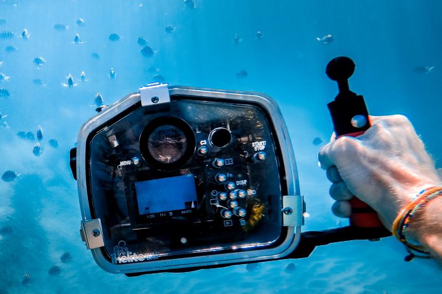 cámara acuática