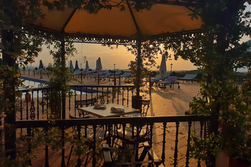 cena en hotel La Caminera
