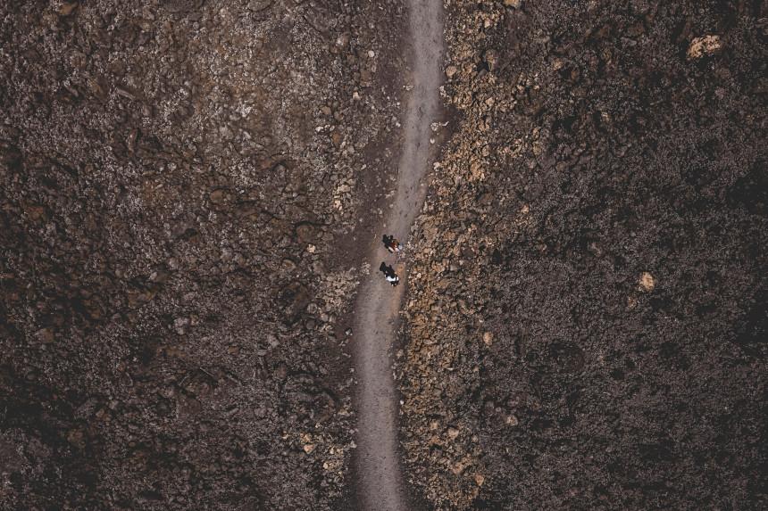 rutas senderistas por Timanfaya