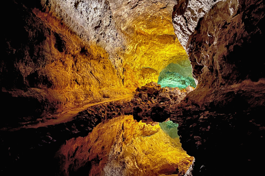 Cueva de los Verdes en Lanzarote