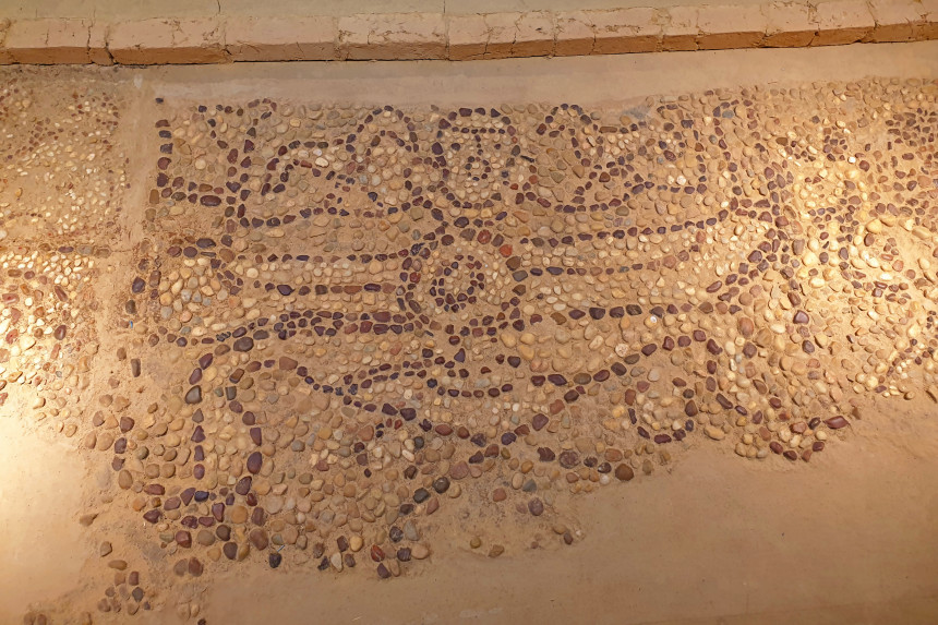 mosaico de Iniesta