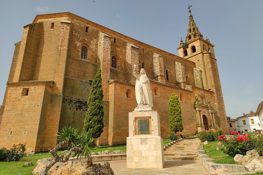 Santa teresa en Villanueva de la Jara