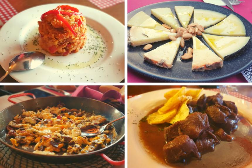 Gastronomía de la Ruta del Vino La Manchuela